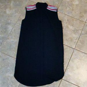 H&M Black Button Down Dress